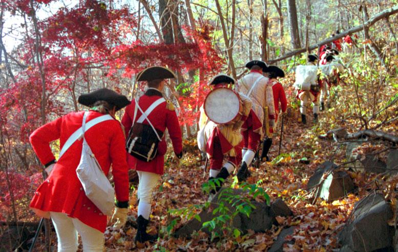 Invasion of the Jerseys: 225th anniversary reenactment, 2001